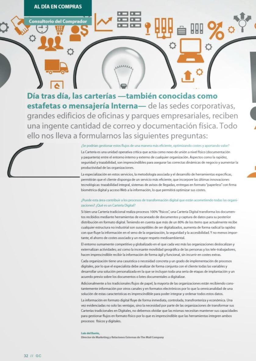 La opinion del Experto Revista Gestion de Compras (AERCE)
